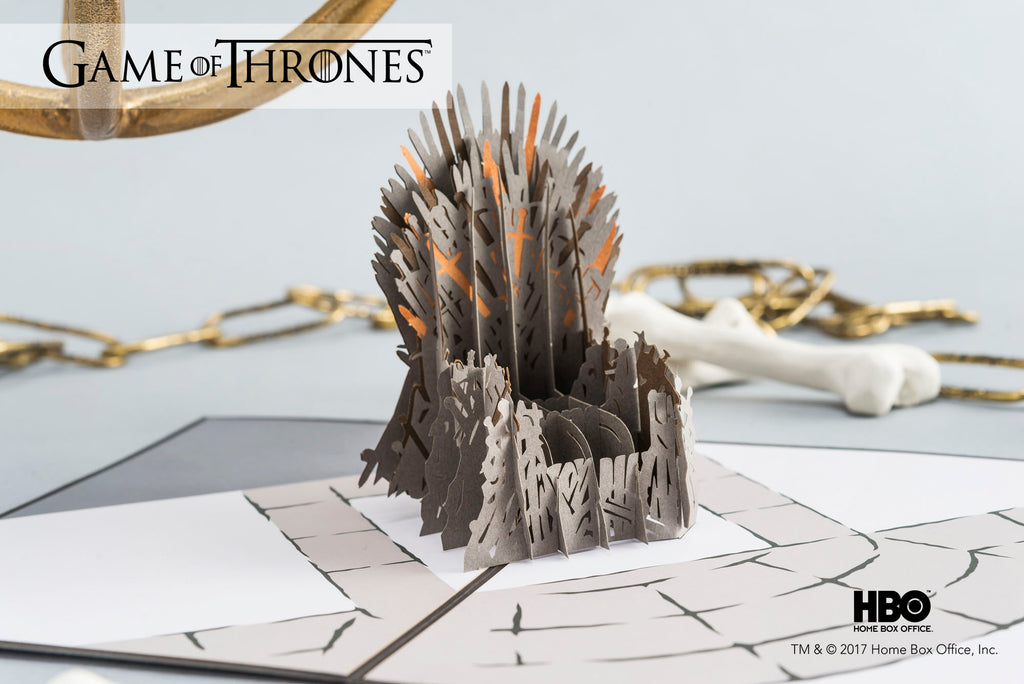 The Iron Throne Game of Thrones Pop up Card