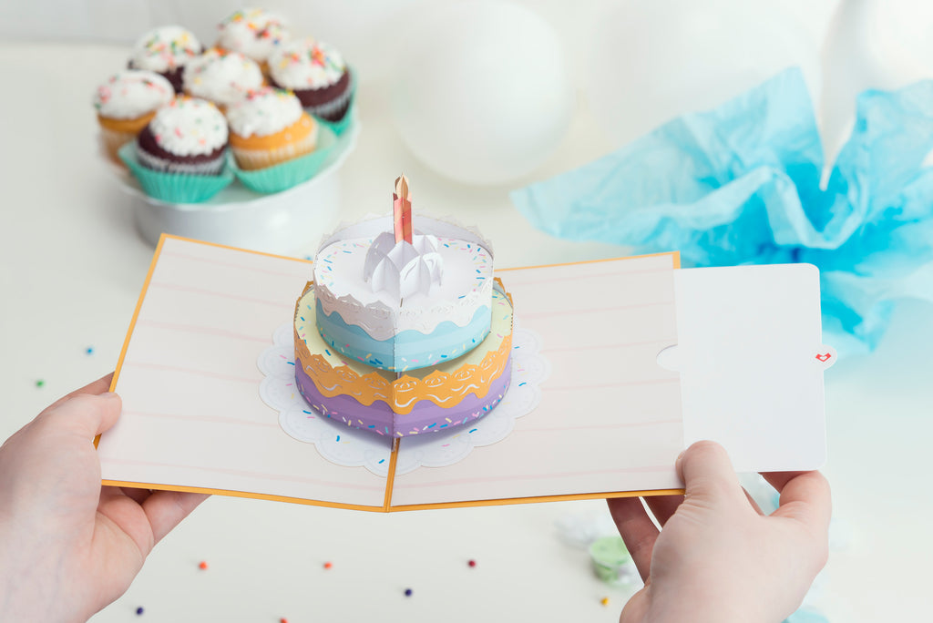 Happy Birthday Cake Lovepop Pop Up Card