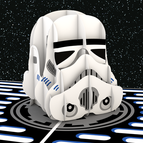 Imperial Stormtrooper Pop up Card