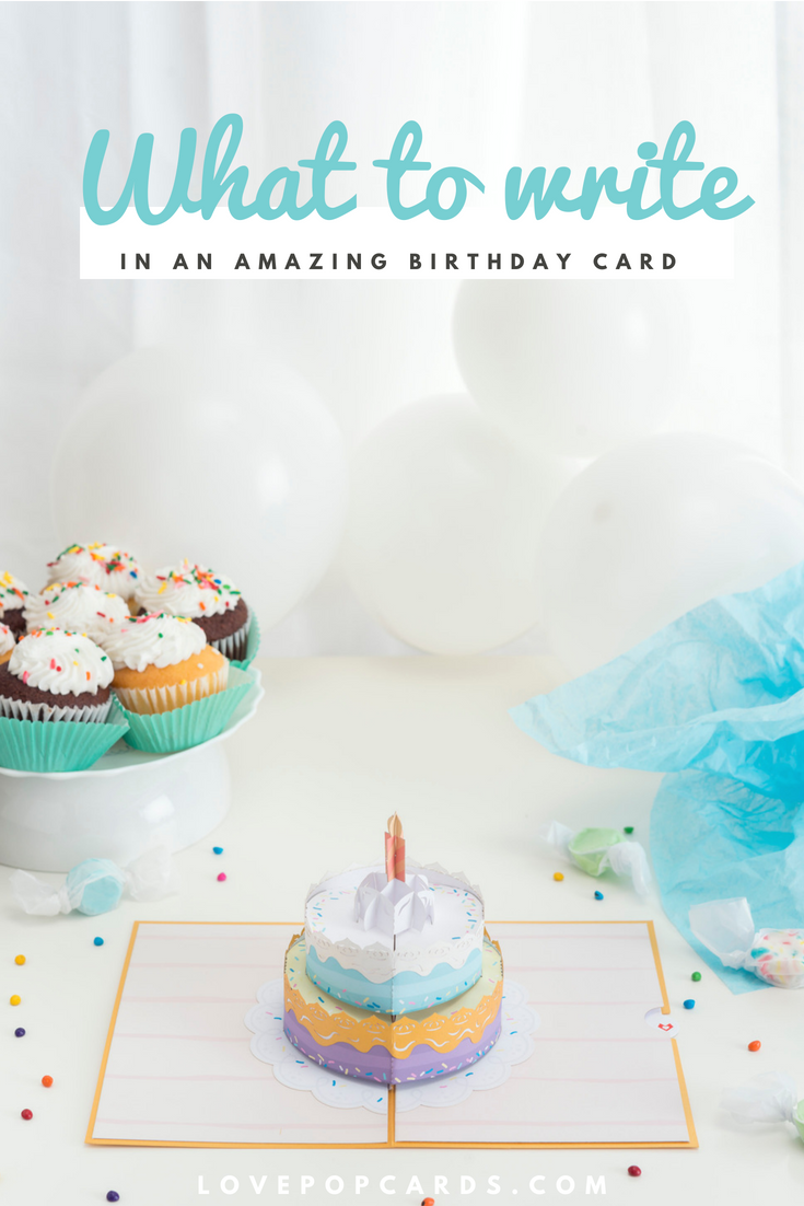 What To Write In A Happy Birthday Card