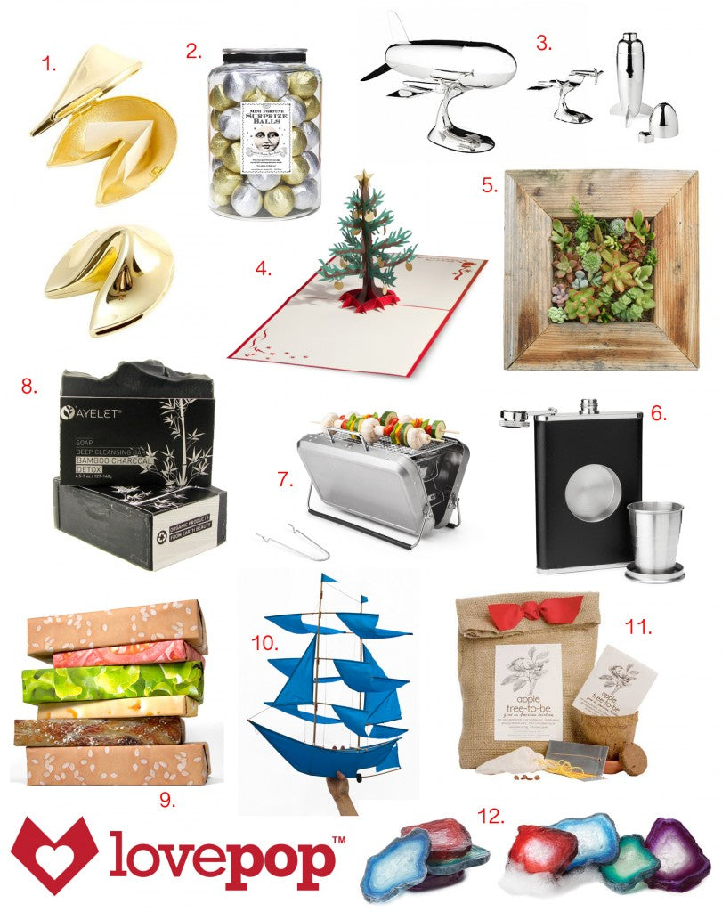 lovepop holiday gifts