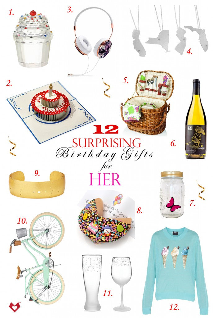12 Surprising Birthday Gifts For Her