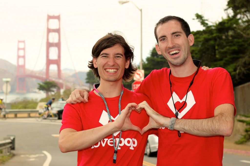 Lovepop Founders golden gate bridge