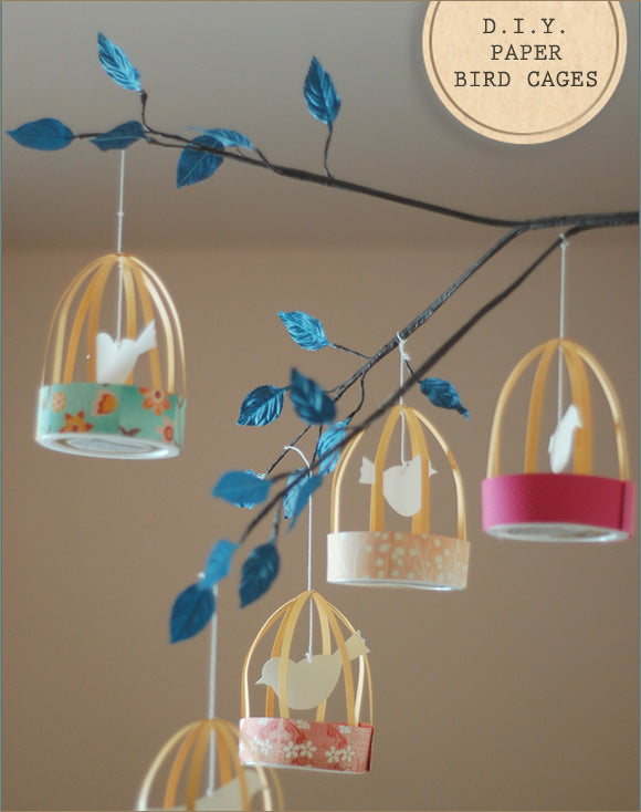 diy-paper-birdcages