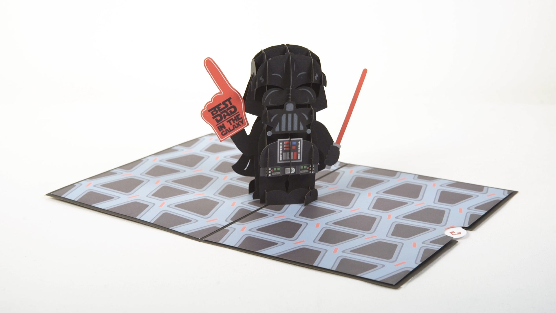 Card for Dad Birthday Card Fathers Day Card Dad Card Greeting Card Greeting Card 3D Cards Lovepop Star Wars Darth Vader Best Dad Pop Up Card