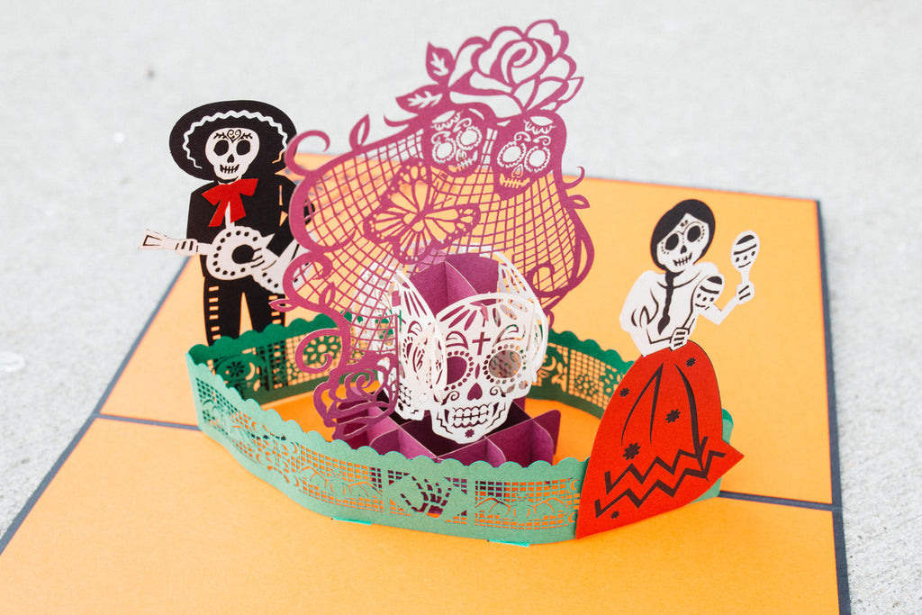 Lovepop Day of the Dead Pop-up Halloween Card