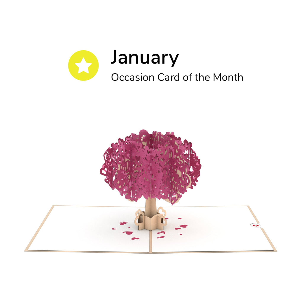 Card of the Month - Occasions  Auto renew pop up card