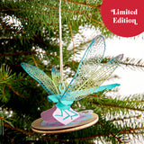 Dragonfly Ornament                                   pop up card - thumbnail