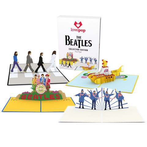 The Beatles Collector Edition Box Set greeting card -  Lovepop