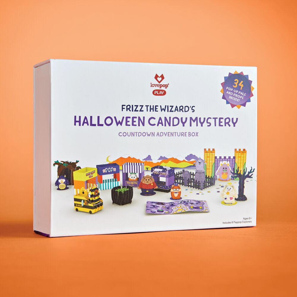 Frizz the Wizard's Halloween Candy Mystery Adventure Box