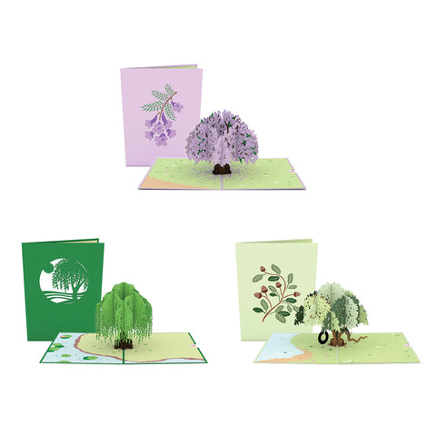 Triple Trees Limited Edition 3 Pack greeting card -  Lovepop