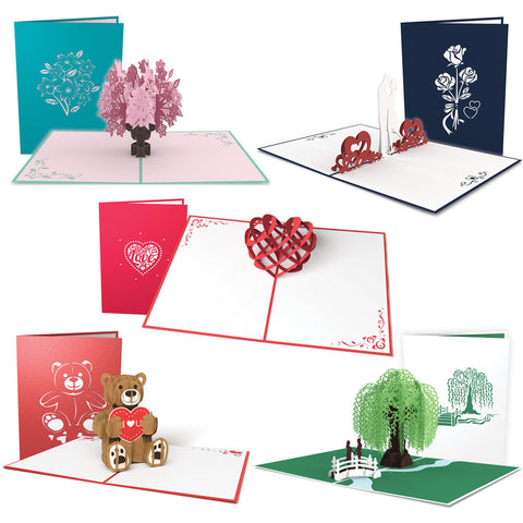 5 Days of Love Valentine's Day Card 5 Pack greeting card -  Lovepop