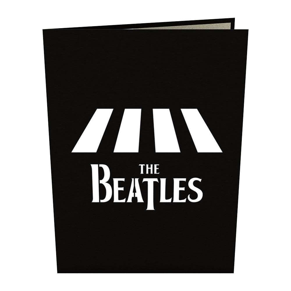 The Beatles Abbey Road Birthday Pop Up Card