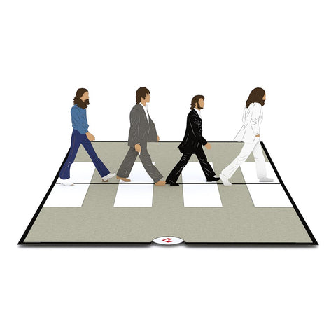 The Beatles Abbey Road greeting card -  Lovepop