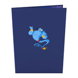 Disney's Aladdin Magic Lamp                                                          birthday                                                     pop up card - thumbnail