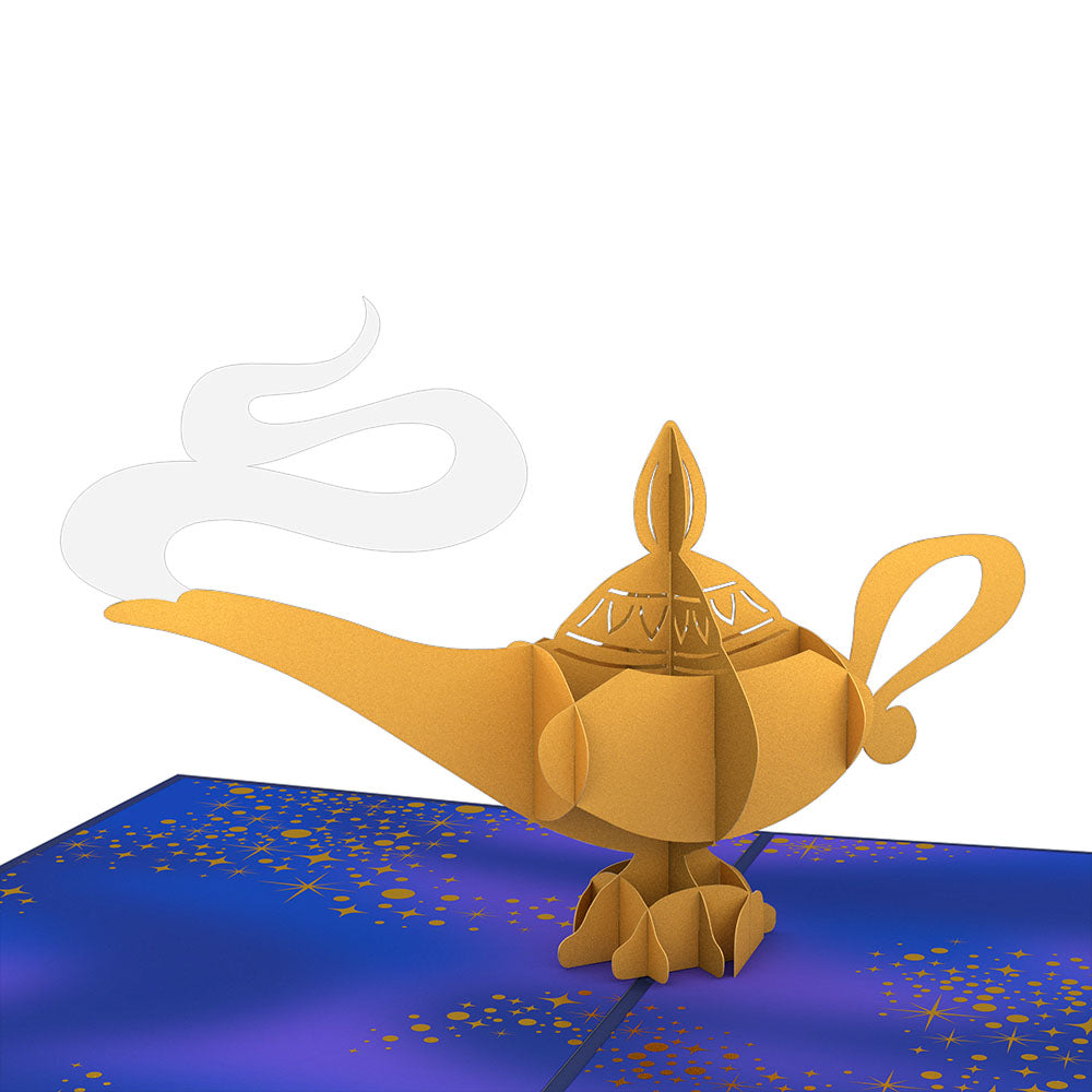 Disney's Aladdin Magic Lamp                                             birthday                            pop up card
