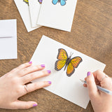 Notecard 4-Pack: Butterfly pop up card - thumbnail