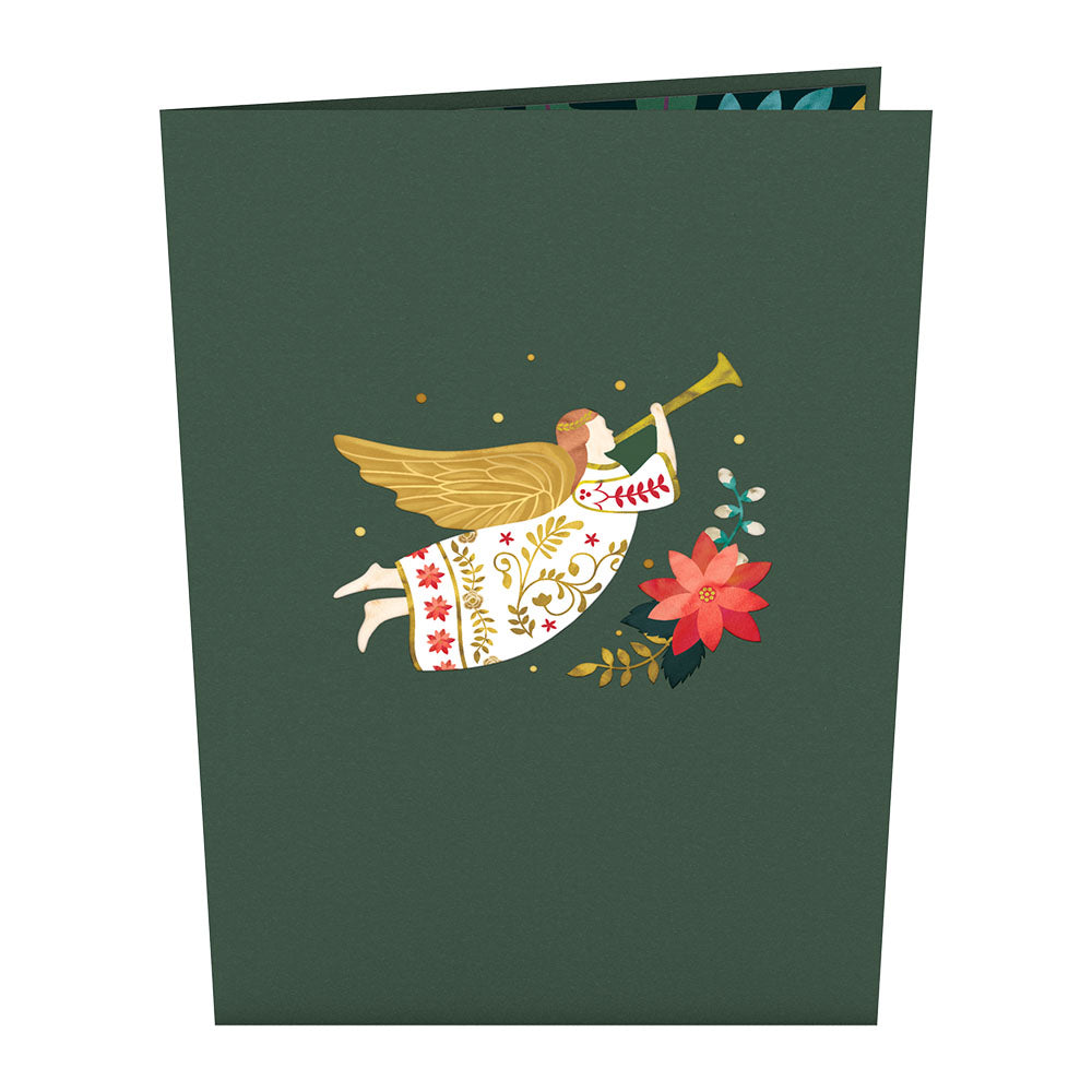 Holiday Angel             pop up card