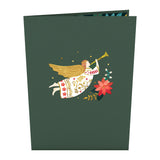 Holiday Angel                                   pop up card - thumbnail