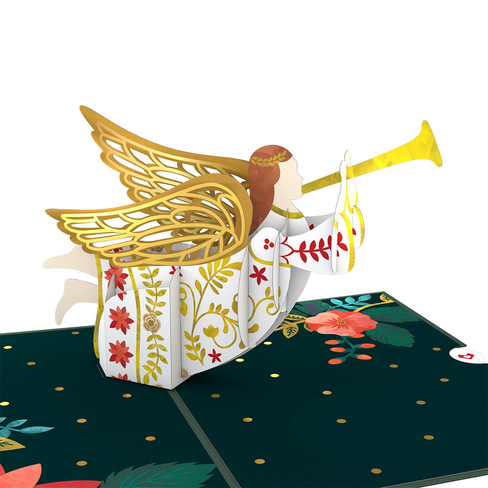 Holiday Angel Pop-Up Card