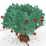 Apple Tree pop up card - thumbnail