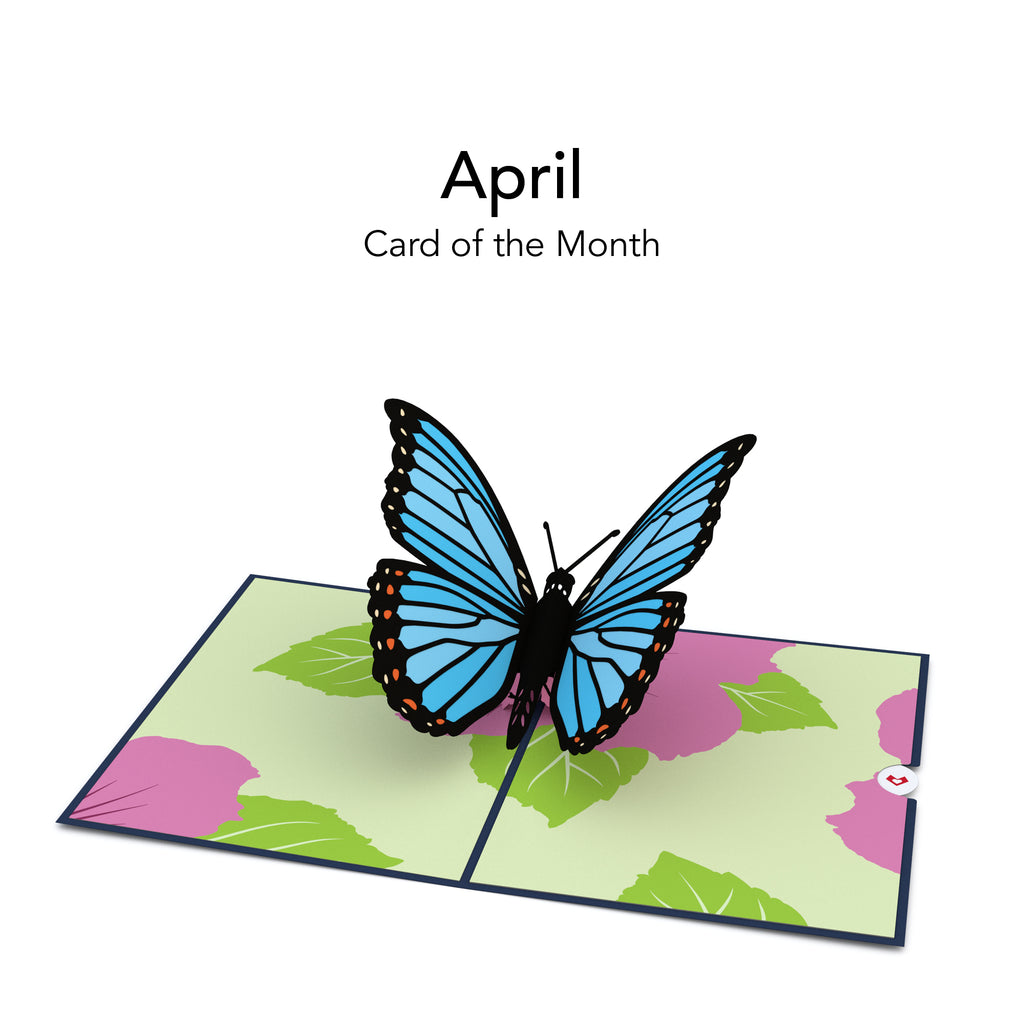 Card of the Month pop up card