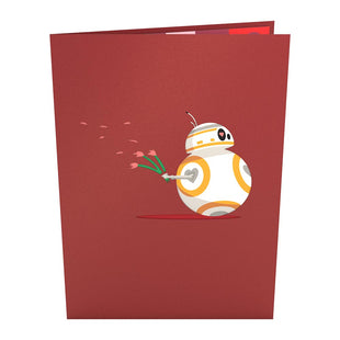 BB-8 Mine Pop up Card