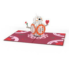 BB-8 Mine Pop up Card greeting card -  Lovepop