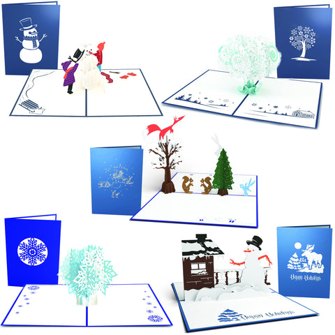 Baby It's Cold Outside Christmas Card 5 Pack greeting card -  Lovepop