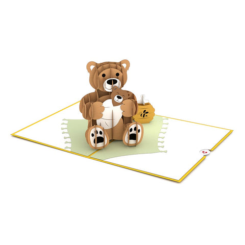 Baby Bear Pop Up Card greeting card -  Lovepop