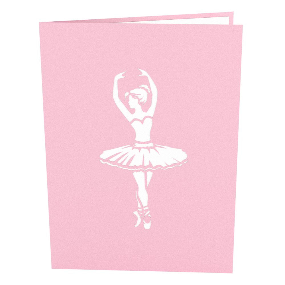 Ballerina Pop Up Dance Card Lovepop
