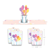 Gift Tag 4-Pack: Balloon Bunch                                   pop up card - thumbnail