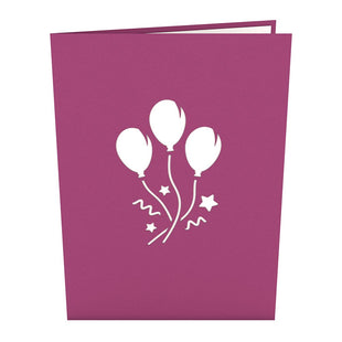 Balloon Bouquet Pop Up Birthday Card