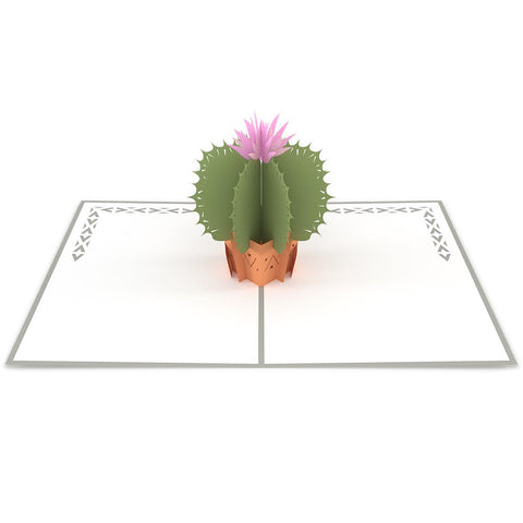 Barrel Cactus Pop Up Birthday Card greeting card -  Lovepop