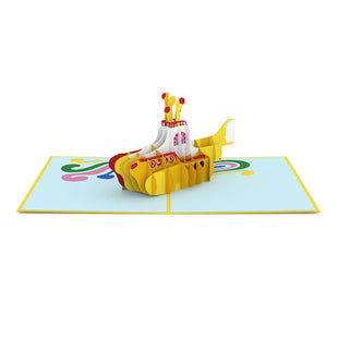 The Beatles Yellow Submarine Pop Up Card greeting card -  Lovepop