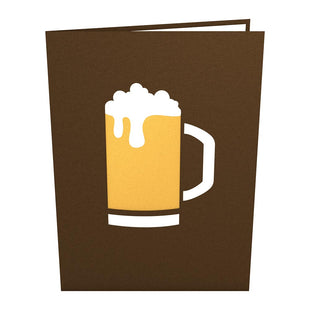 Beer Pop Up Greeting Card