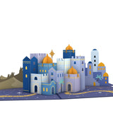 Bethlehem pop up card - thumbnail