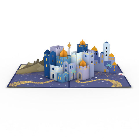 Bethlehem Pop up Card greeting card -  Lovepop