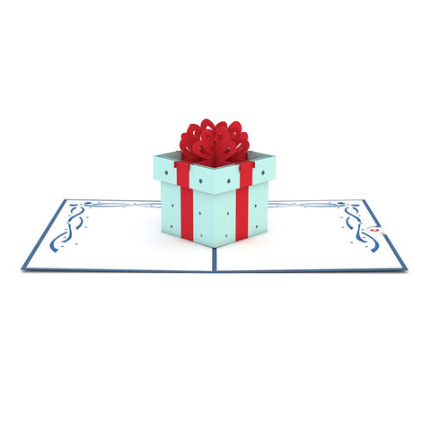 Birthday Present Pop Up Birthday Card greeting card -  Lovepop