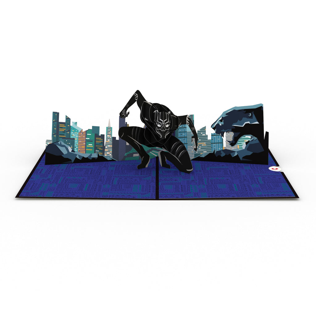 Black Panther                                          birthday                          pop up card