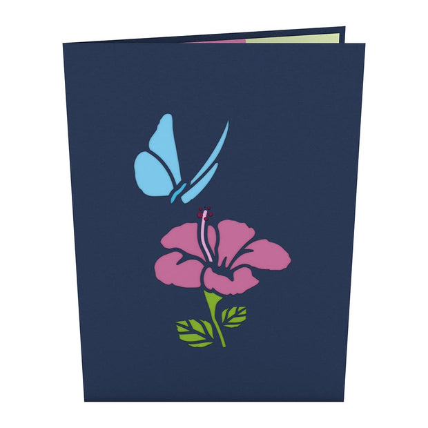 Blue Morpho Pop up Card