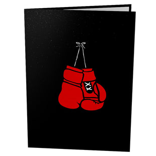 Pop Up Boxing Card