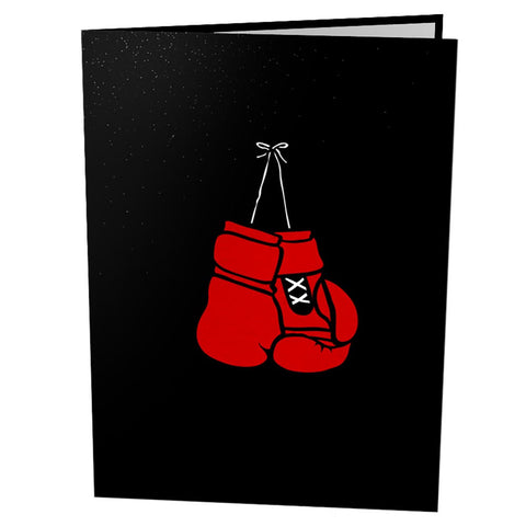 Pop Up Boxing Card popup card cover - Lovepop