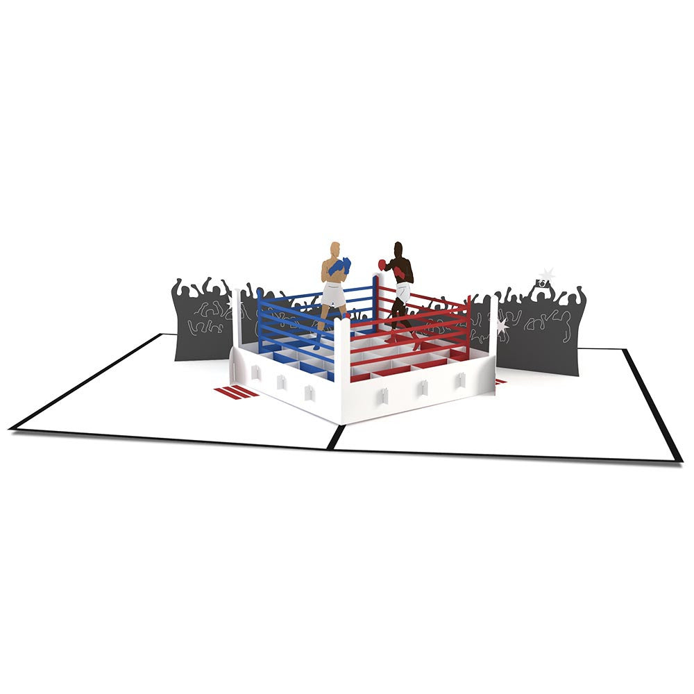 Boxing pop up card