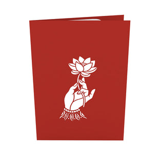 Buddha Pop Up Card