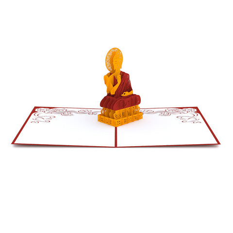 Buddha Pop Up Card greeting card -  Lovepop