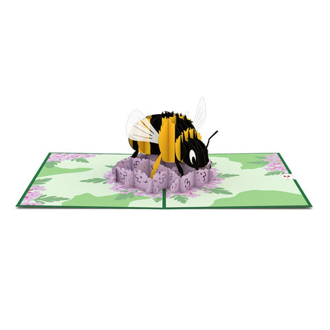 Bumble Bee Pop up Card greeting card -  Lovepop