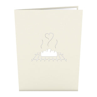Bun in the Oven Pop up Card
