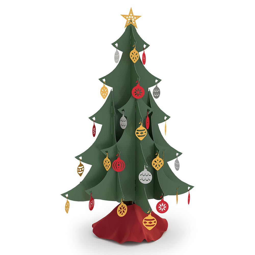 Classic Tabletop Christmas Tree pop up card