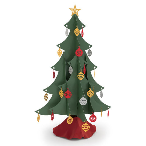 Classic Tabletop Christmas Tree greeting card -  Lovepop